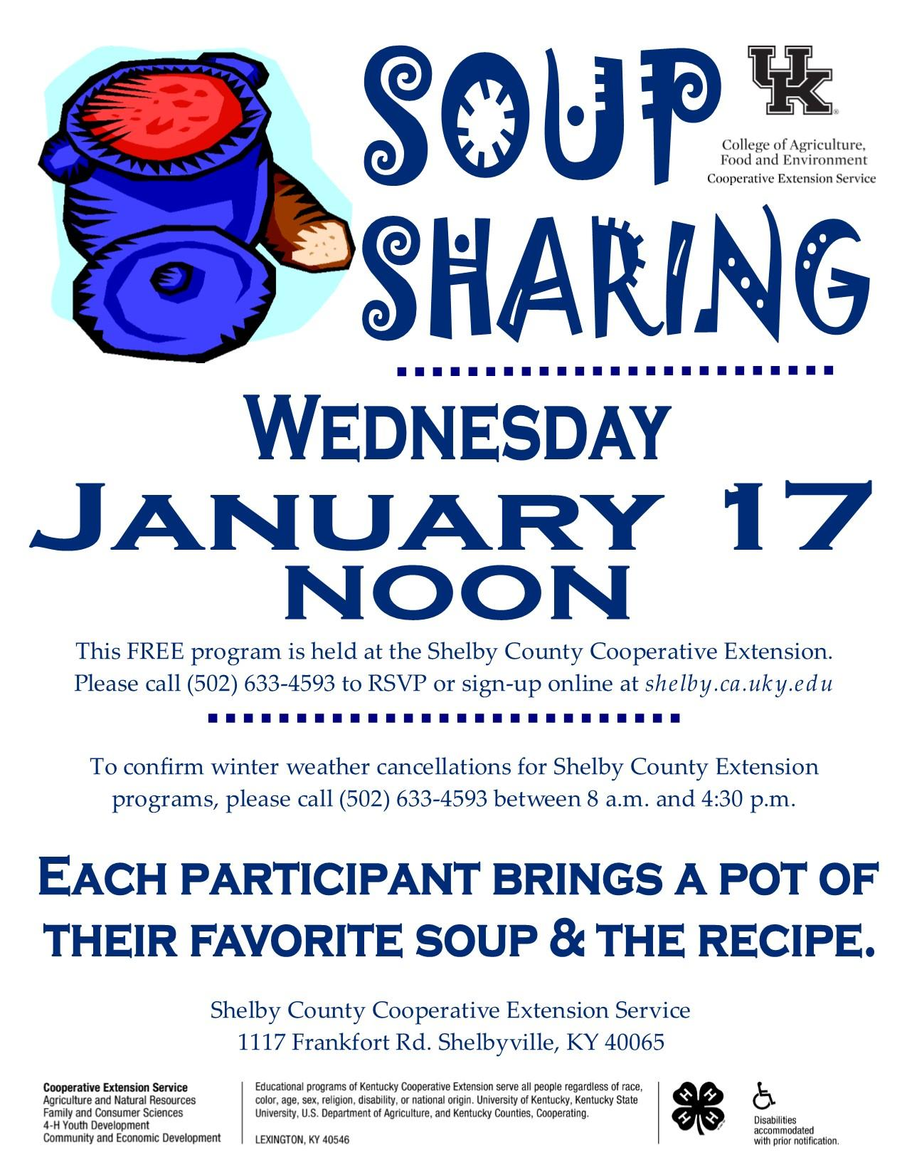 Soup Sharing