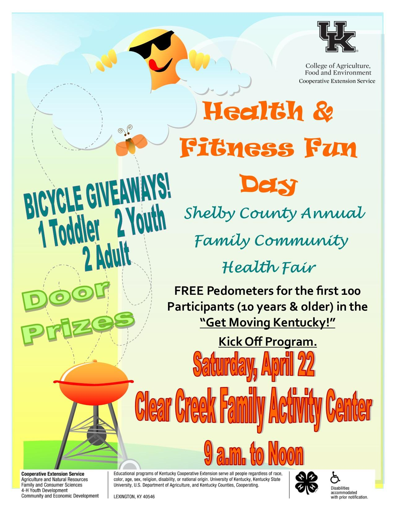Health & Fitness Fun Day 2017